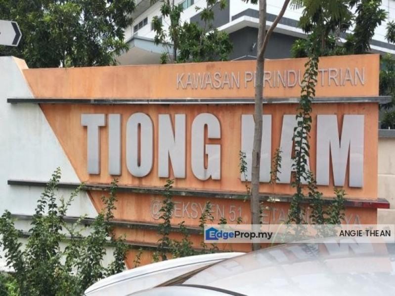 Tiong Nam Industrial Park PJ, Sec 51, Selangor, Petaling Jaya
