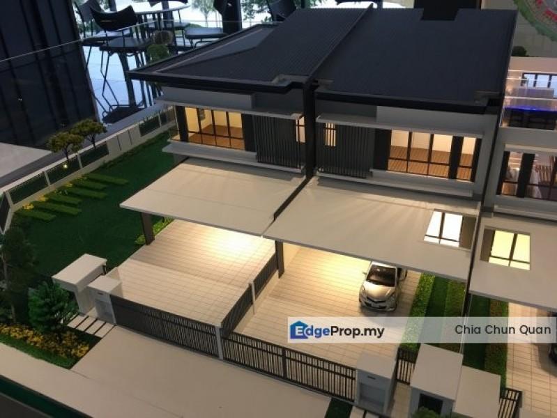 New Double Storey 26x90 Freehold Township, Kuala Lumpur, Kepong