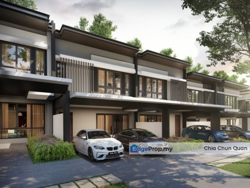 New Double Storey 26x90 Freehold Township    , Selangor, Kepong